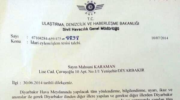 Uçakta Kürtçe Anons Talebine Yanıt: Hangi Dilde Brinfing Verileceğine Dair Düzenleme Yok