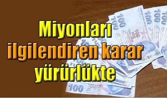 Ücret ve komisyon düzenlemesi yürürlükte