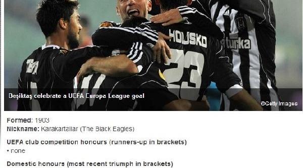 Uefa Beşiktaş'in Türkiye Kupasi'ni Iade Etti