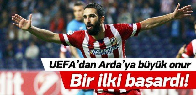 UEFA'dan Arda'ya büyük onur! Bir ilki başardı!