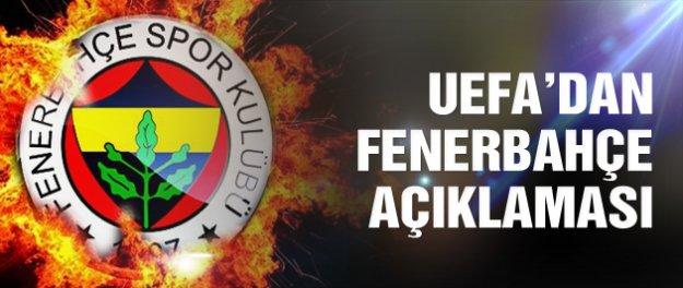 UEFA'dan Fenerbahçe açıklaması