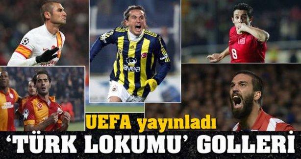 UEFA'dan Sürpriz: 'Türk Lokumu' Golleri... - İZLE