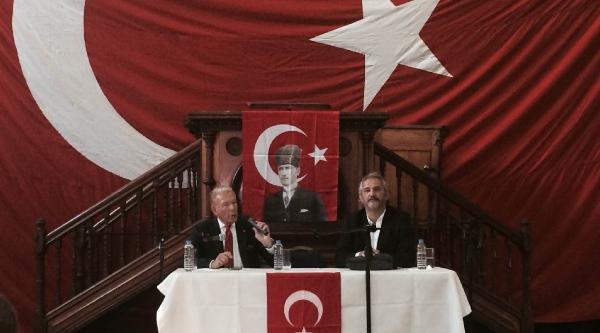 """Uğur Dündar Londra'da""""türkiye Nereye Gidiyor"""" Toplantısına Katıldı"""