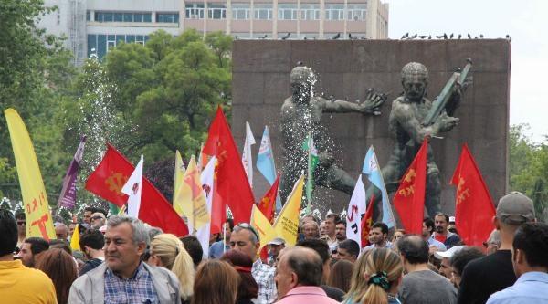 Uğur Kurt'un Ölümünü Ankara'da Protesto Edildi