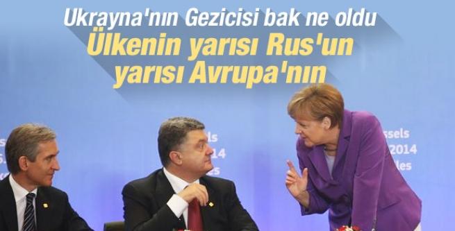 Ukrayna AB ile ortaklık anlaşması imzaladı