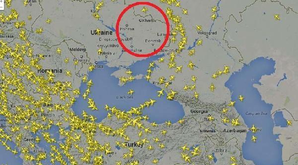 Ukrayna Gibi İsrail Hava Sahası Boş