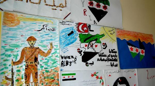 Ülkelerindeki Savaşı Resimlerle Anlattılar