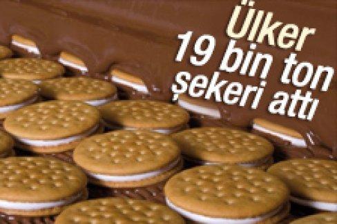 Ülker 19 bin ton şekeri ürünlerinden çıkardı