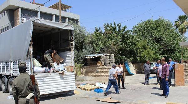 Ülkü Ocakları'nın Türkmeneli İçin Topladığı Yardımlar Kerkük'e Ulaştı