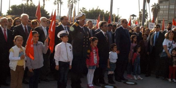 Ulu Önder, Mersi'nde Anildi