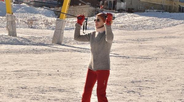 Uludağ'da Kar Kalinliği 45 Santime Düştü