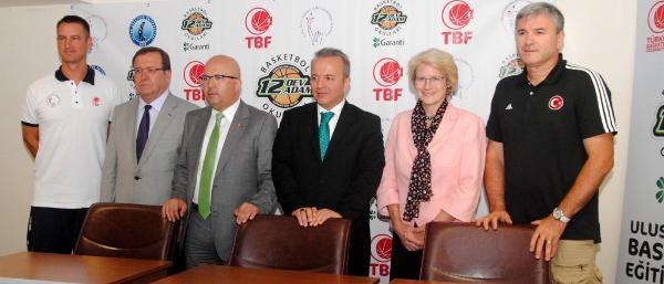Uluslararası Basketbol Kampı Başladı