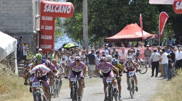 Uluslararası Dağ Bisikleti Yarışları Yapıldı