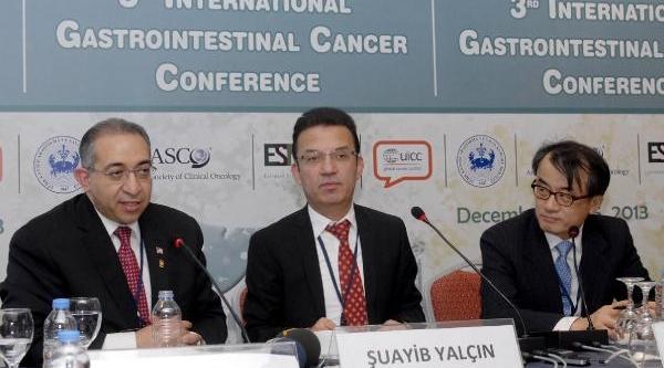 Uluslararasi Gastrointestinal Kanserler Konferansi Başladi