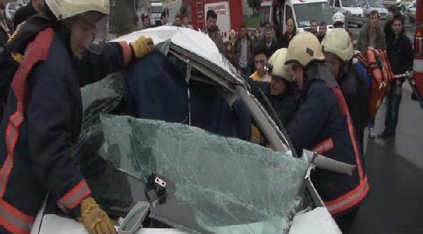 Ümraniye'deki Kazada Can Pazarı