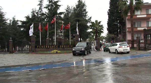 Umut Oran, İlker Başbuğ'u Fenerbahçe Orduevi'nde Ziyaret Etti