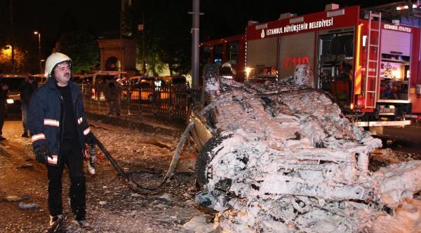 Unkapanı'nda Otomobil Takla Attı: 1 Ölü, 3 Yaralı