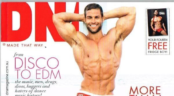 Ünlü Gay Dergisi,  Yağlı Güreşçileri Kapak Yaptı