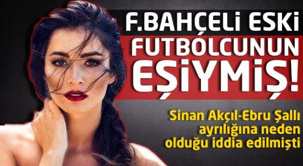 Ünlü şarkıcı F.Bahçeli futbolcunun eski eşi çıktı!