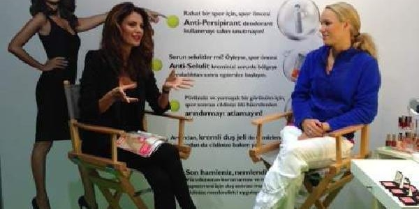 Ünlü Tenisçi Wozniacki Tülin Şahin'e Özel Röportaj Verdi