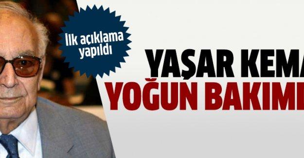 Ünlü yazar Yaşar Kemal hastaneye kaldırıldı