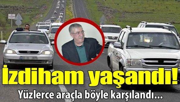 Urfa'da Sedat Bucak izdihamı