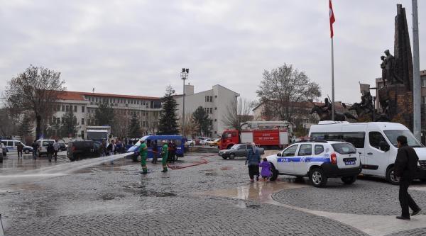 Uşak'ta Başbakan Hazırlığı