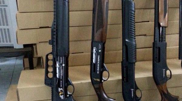 Uşak'Ta Faturasiz 117 Tüfek Ele Geçirildi