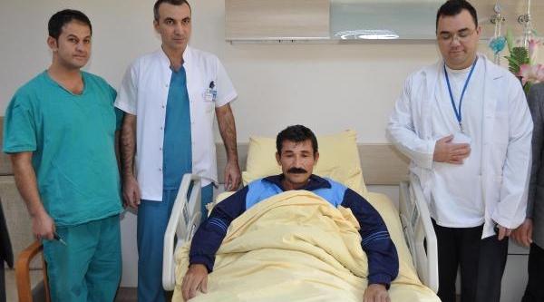 Uşak'Ta Ilk Kez Yapilan Ameliyatla Sağliğina Kavuştu