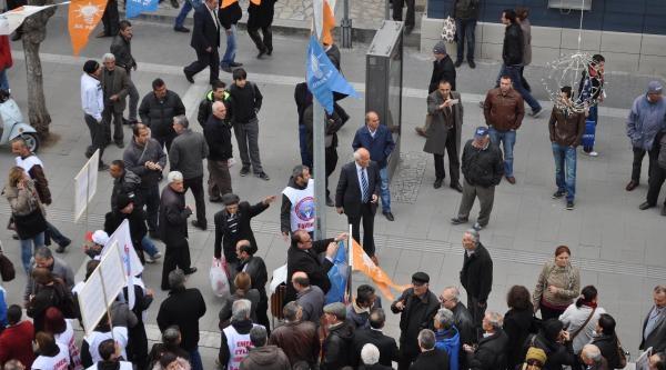 Uşak'ta Meb Yasa Tasarısı'nı Protesto