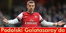 Galatasaray Podolski ile anlaştı