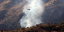 PKK'nın beş gizli silah deposu vuruldu