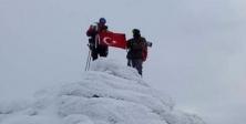 1823 metreye Türk bayrağı