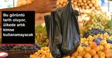 Fransa'da Plastik Poşet Kullanmak Yasaklandı
