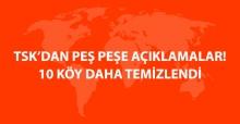 TSK'dan Fırat Kalkanı Açıklaması: 10 Köy Daha Ele Geçirildi
