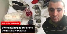 İzmir'de Eylem Hazırlığındaki PKK'lı Patlayıcılarla Yakalandı