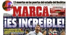 Marca gazetesi, logosuna Ay-Yıldız ekledi