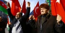 Azerbaycan'da İstanbul'daki saldırı protesto edildi