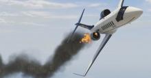 İspanya'da uçak düştü: 4 ölü