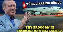 THY de Türk Lirası'na döndü