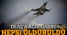 TSK: 165 DEAŞ hedefi vuruldu, 11 terörist öldürüldü
