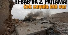 El-Bab'da ikinci patlama: En az 8 ölü