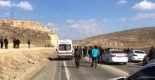 Mardin'de askeri aracının geçişi sırasında patlama