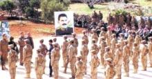 Görüntüleri Ortaya Çıktı! YPG'li Teröristler Böyle Yemin Etti