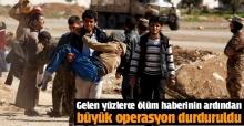 Musul operasyonu durduruldu