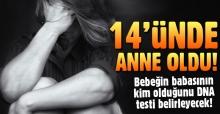 İzmir Kiraz'da tecavüz sonucu hamile kaldı, 14'ünde anne oldu