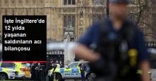 2005'ten Bu Yana İngiltere'de Yaşanan 6 Saldırının Bilançosu : 81 Ölü, 882 Yaralı