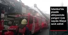 İstanbul Güneşli'de Yangın! Çok Sayıda İtfaiye Ekibi Sevk Edildi