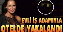 Ebru Şallı sevgilisi Uğur Akkuş ile otelde görüntülendi!
