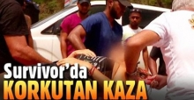 Survivor İpek Yaşar hastaneye kaldırıldı